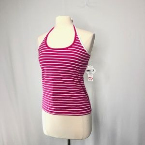 Ie relaxed halter top Women''s Size L New
